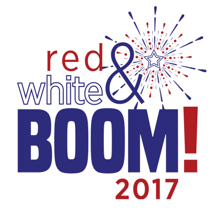 Red, White and Boom Logo